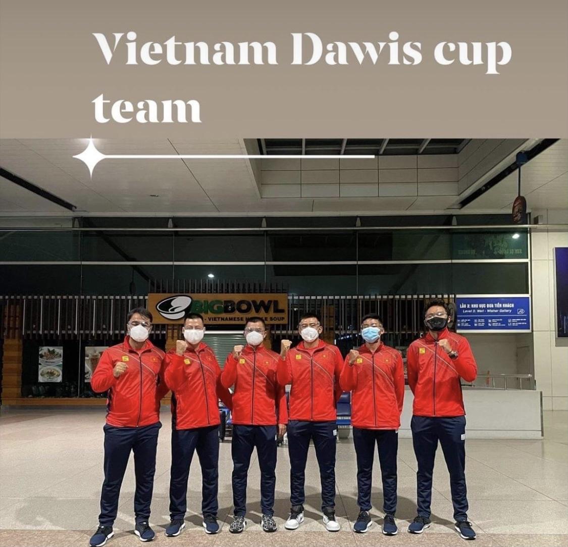 Đội tuyển quần vợt Việt Nam với quyết tâm mới
