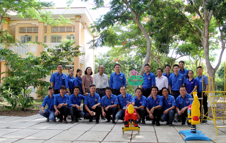 Khánh thành khu vui chơi tại Trưởng Tiểu học Hòa An